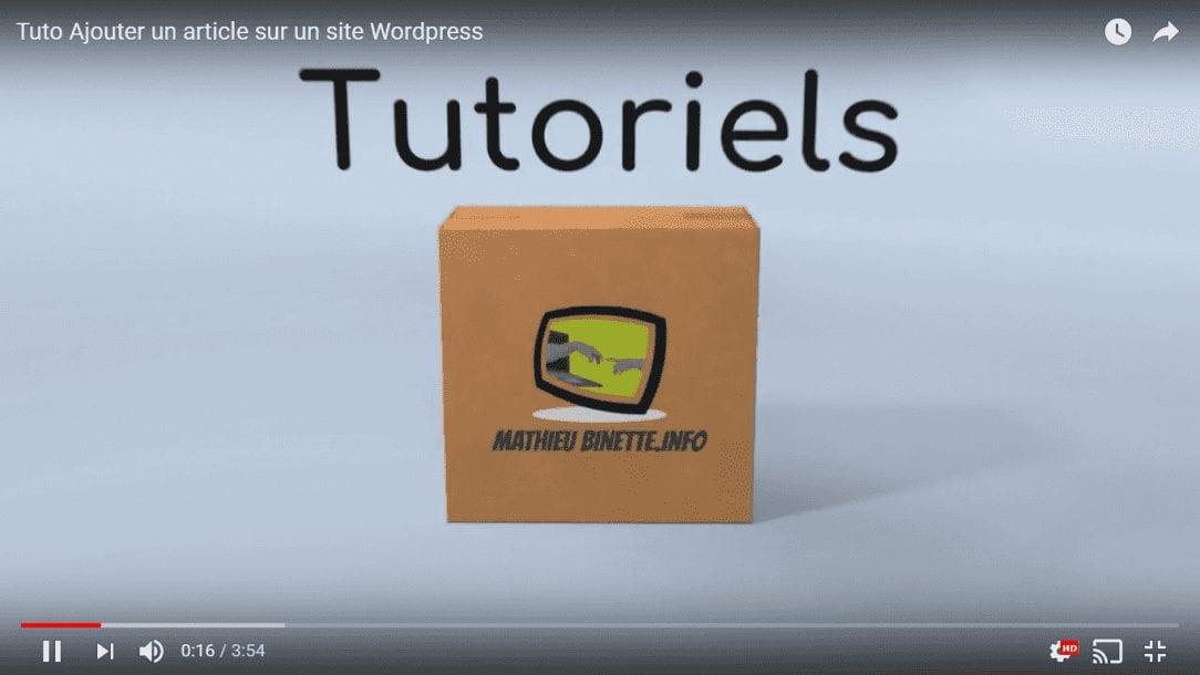 étiquettes wordpress