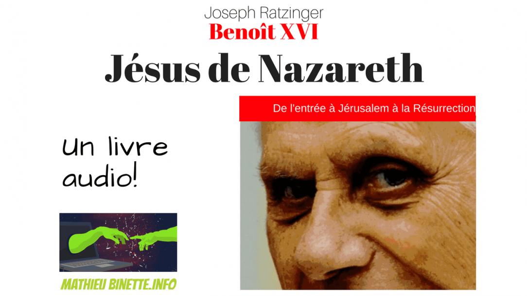livre audio de Jésus de Nazareth