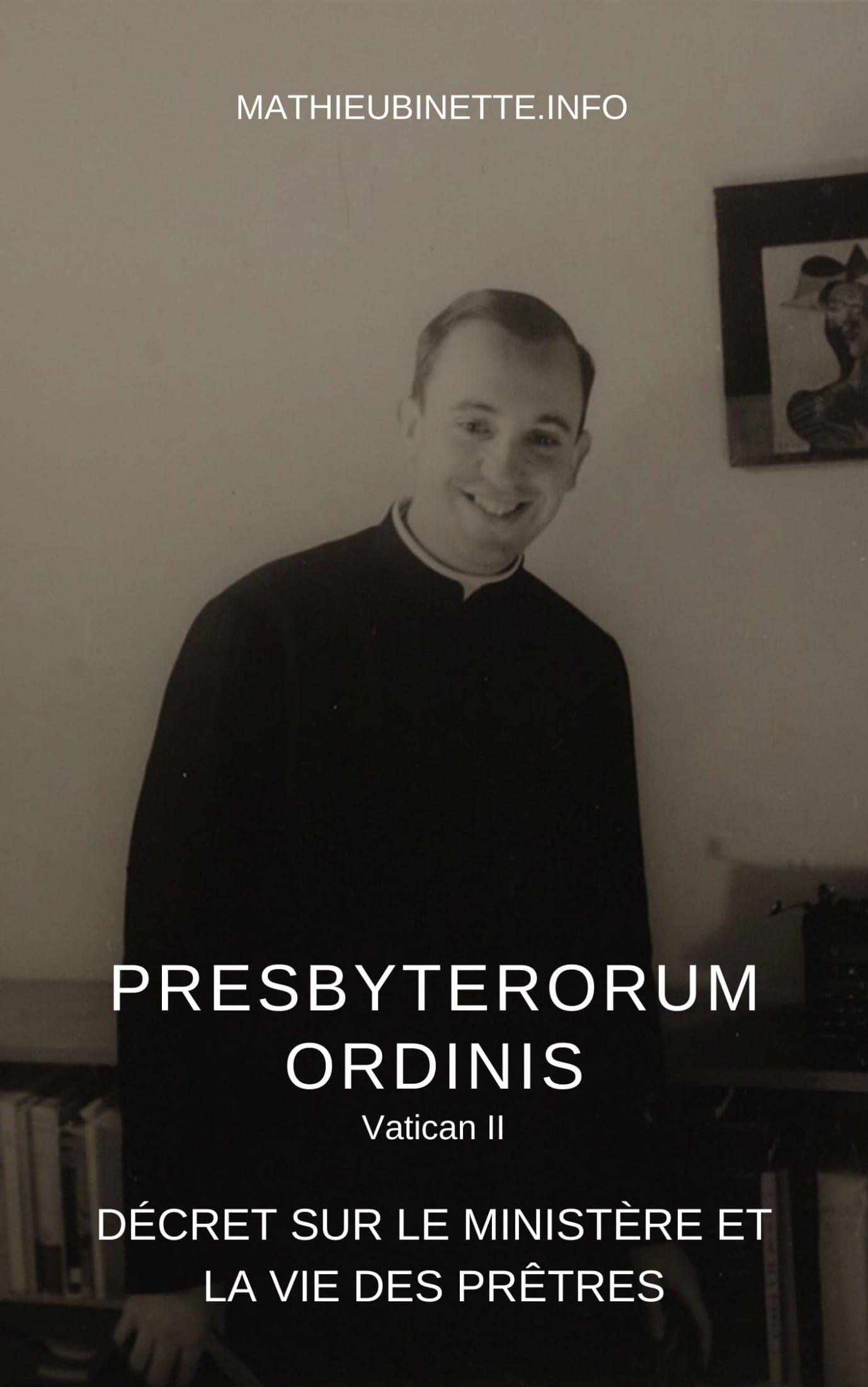 Téléchargez le décret Presbyterorum Ordinis pour le lire confortablement sur votre tablette ou votre ordinateur.